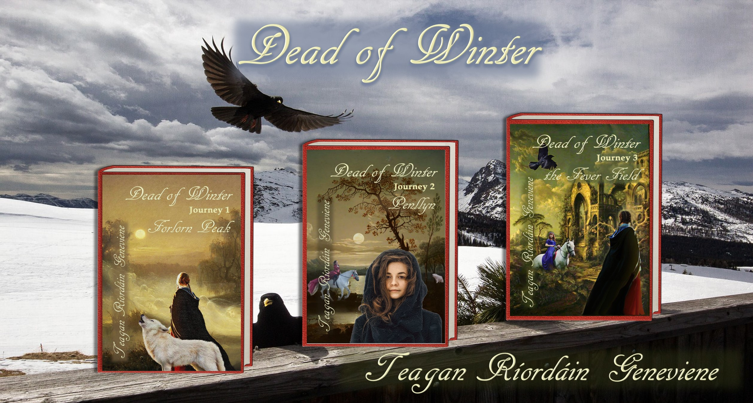 "Season 3 Episode 14: Teagan Ríordáin Geneviene Launches ""Dead of Winter"""